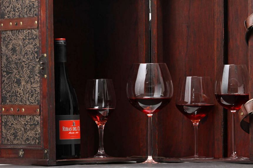 The same wine in different-shaped glasses can smell and taste different.