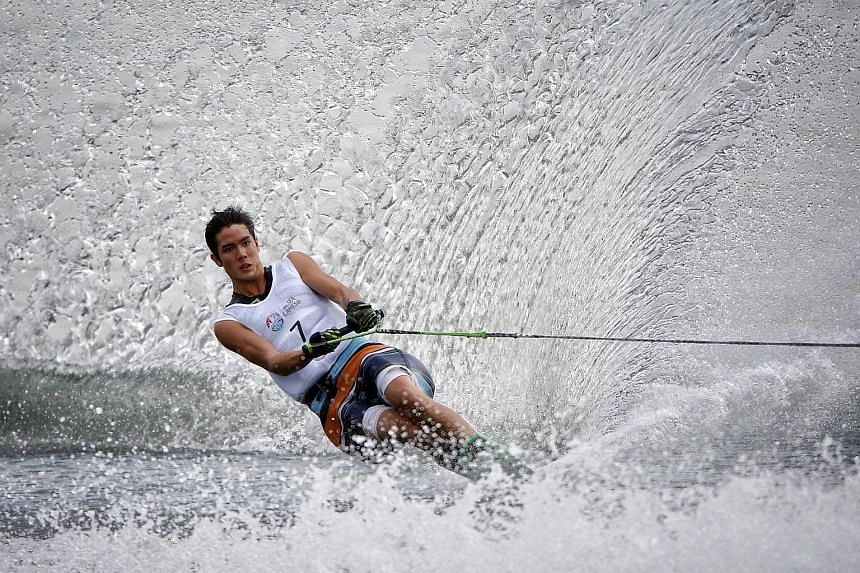 Mark Leong, who triumphed in the men's slalom at the 2015 SEA Games, tries to minimise the amount his parents spend on him to allow him to pursue his passion.