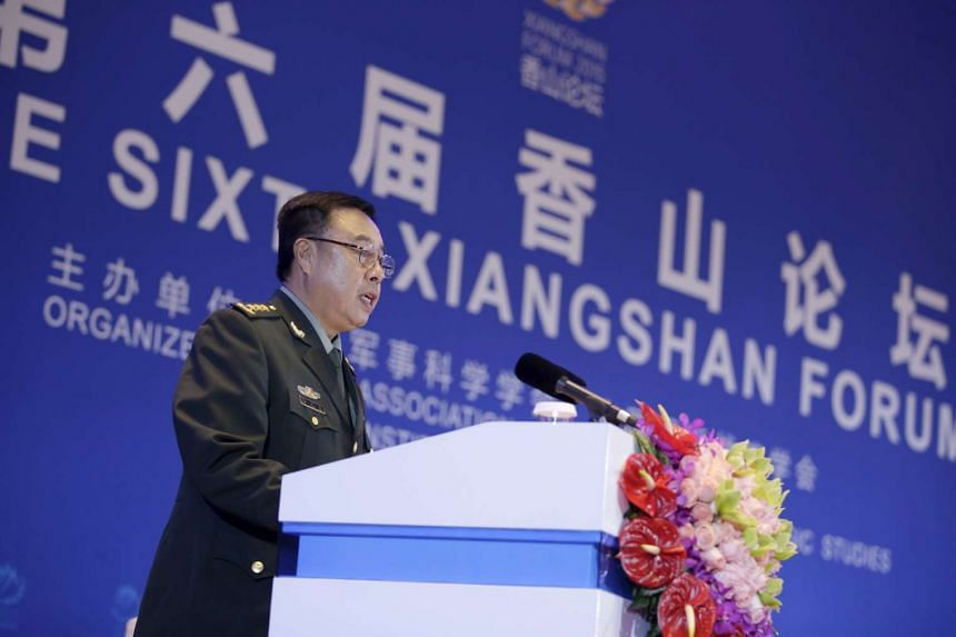 General Fan Changlong is believed to be the most senior Chinese military official ever to speak at the Xiangshan Forum.