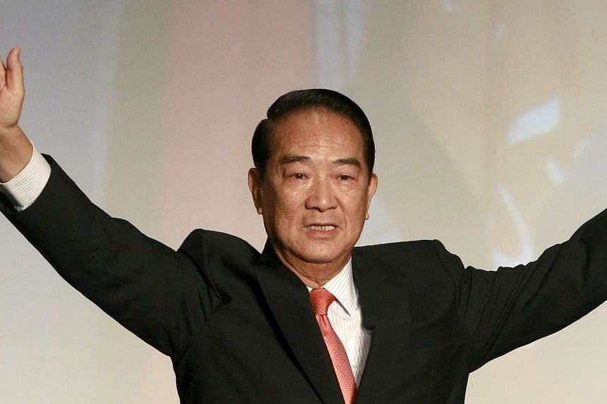 People First Party chairman James Soong previously ran in 2004 for Vice-President and in 2012 for President.