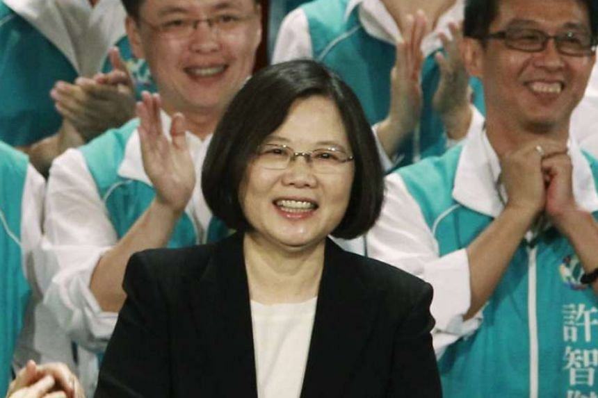 DPP chairman Tsai Ing-wen is leading in the game, and has jokingly referred to herself as the next President of Taiwan.
