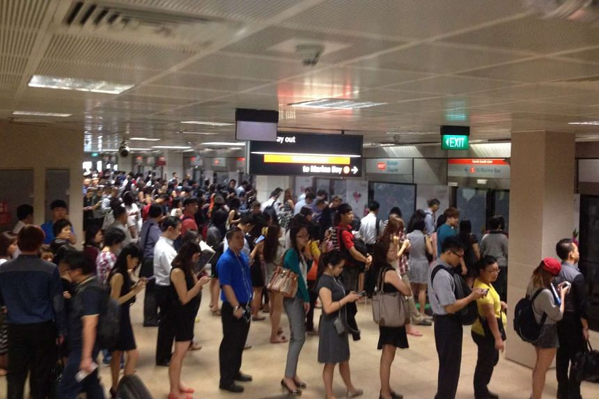 The platform spaces at 17 MRT stations, including Bishan (pictured) will be expanded through ways such as covering some existing voids (such as those around stairs and escalators) and reorganising station furniture.