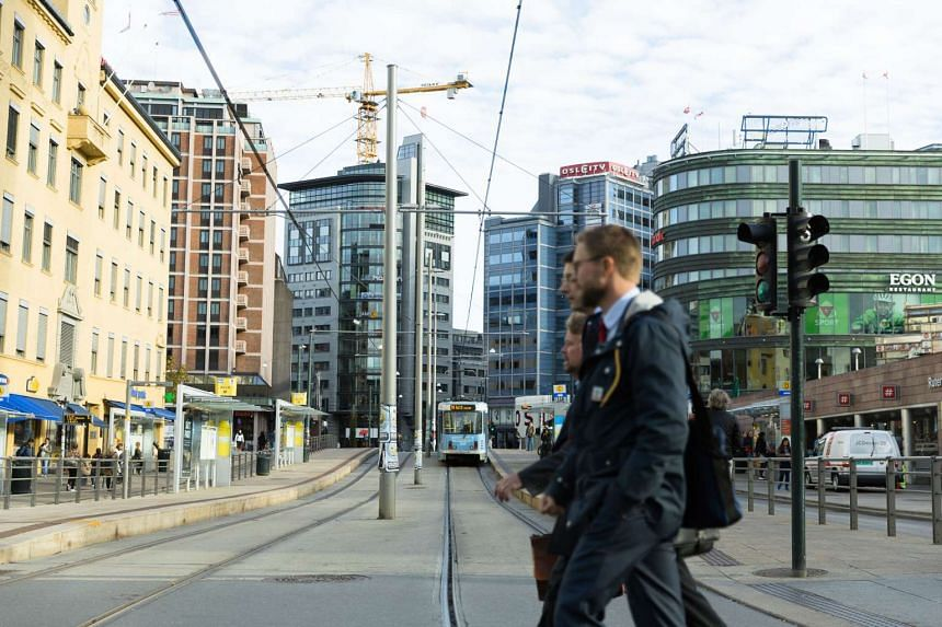 Central Oslo will be car-free by 2019 to help reduce pollution.