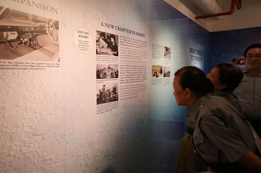 Visitors to the bunker will be able to view an exhibition on site as part of the Home Team's SG50 celebrations.