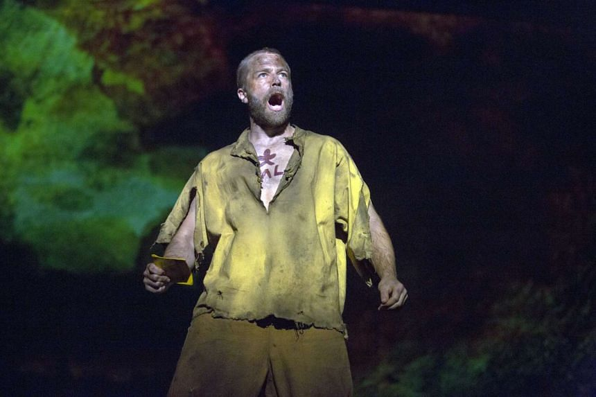 Australian actor Simon Gleeson plays Jean Valjean in the new production of Les Miserables by Cameron Mackintosh, which will play in Singapore in May 2016.