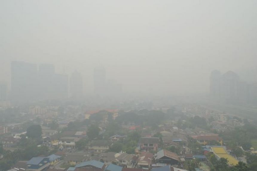 """The Air Pollutant Index (API) in 18 areas in Malaysia recorded unhealthy levels on Monday, Oct 19, with Seremban almost reaching the """"very unhealthy"""" level as of 1pm."""