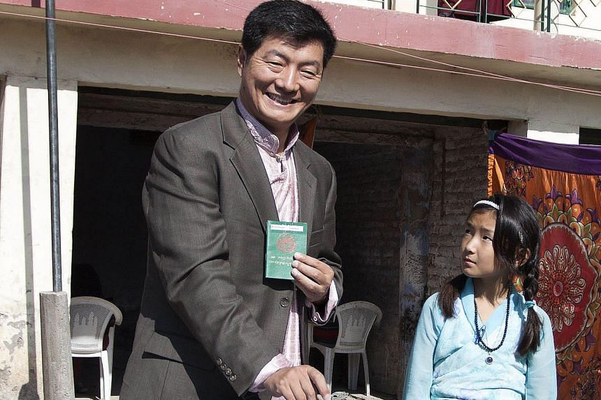The current prime minister of the Tibetan government-in-exile, Mr Lobsang Sangay, is recontesting the top job.
