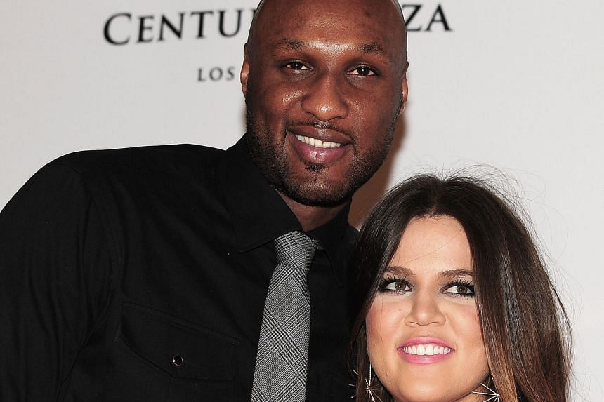 Lamar Odom and Khloe Kardashian (both left in a 2012 photo) were in the midst of divorce proceedings when he collapsed in a Nevada brothel.
