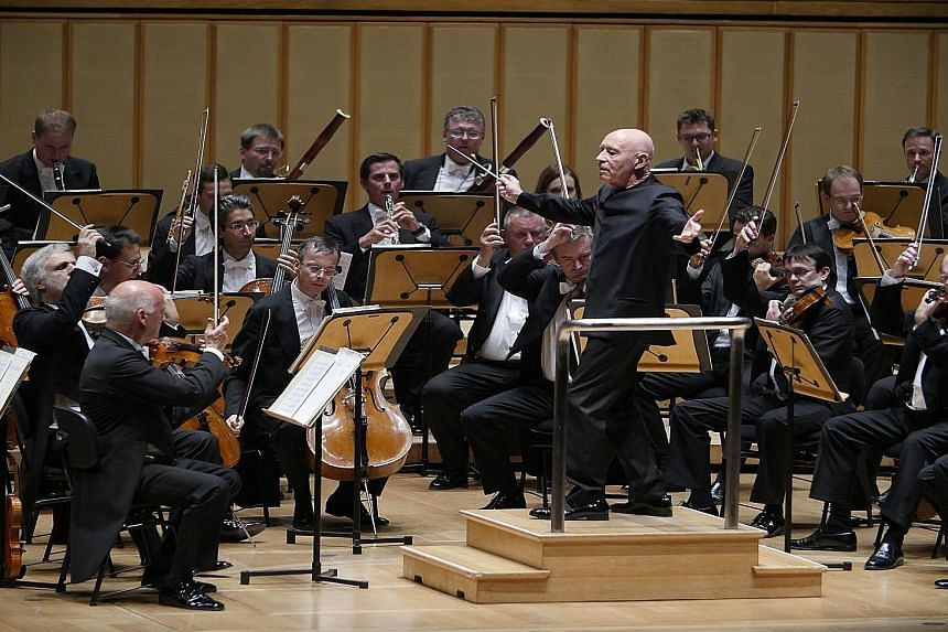 German-born conductor Christoph Eschenbach led the Vienna Philharmonic Orchestra's 2015 Asian tour with aplomb.