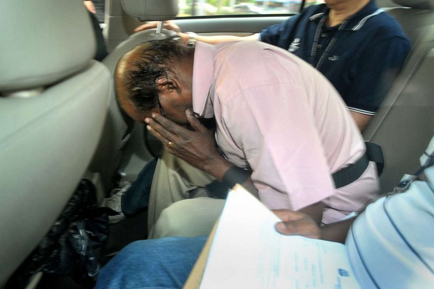 Govindasamy Nallaiah (above) will stand trial for his alleged role in the murder of Madam Low Foong Meng in the Afro Asia Building fire in 2011.