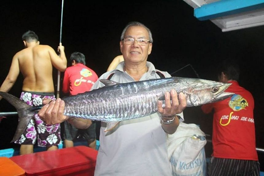 Mr Tan Boon Sin was known to be a fishing enthusiast.