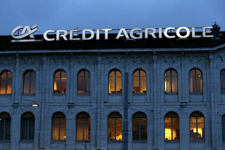 France's Credit Agricole has agreed to pay the US authorities US$787 million (S$1.09 billion)