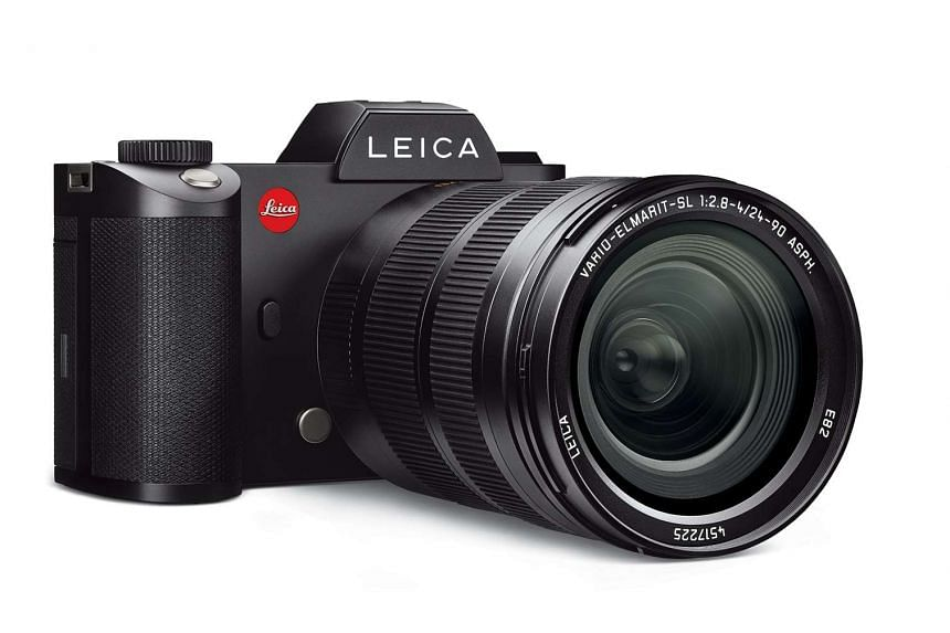 Leica's new full-frame mirrorless camera, the Leica SL (Type 601).