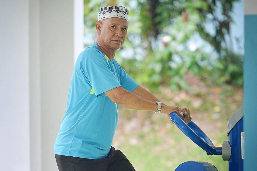 A heart attack prompted Mr Hanafi Ismail to finally kick the habit. Having been smoke-free for more than a year now, he works out regularly to stay fit. Other routines include hourly walks twice a week.