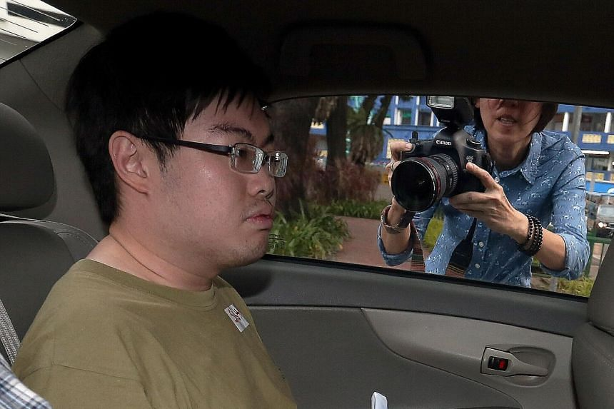 Mark Tan Peng Liat, 29, was charged in court in February with causing the death of his father.