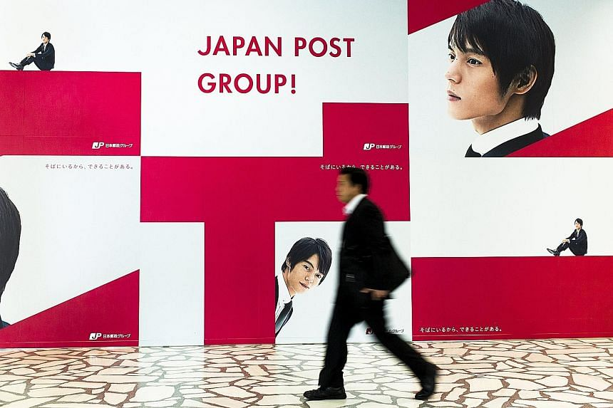 Postal service shares are mostly targeted at citizens as part of Prime Minister Shinzo Abe's goal to get people to invest more of their savings.
