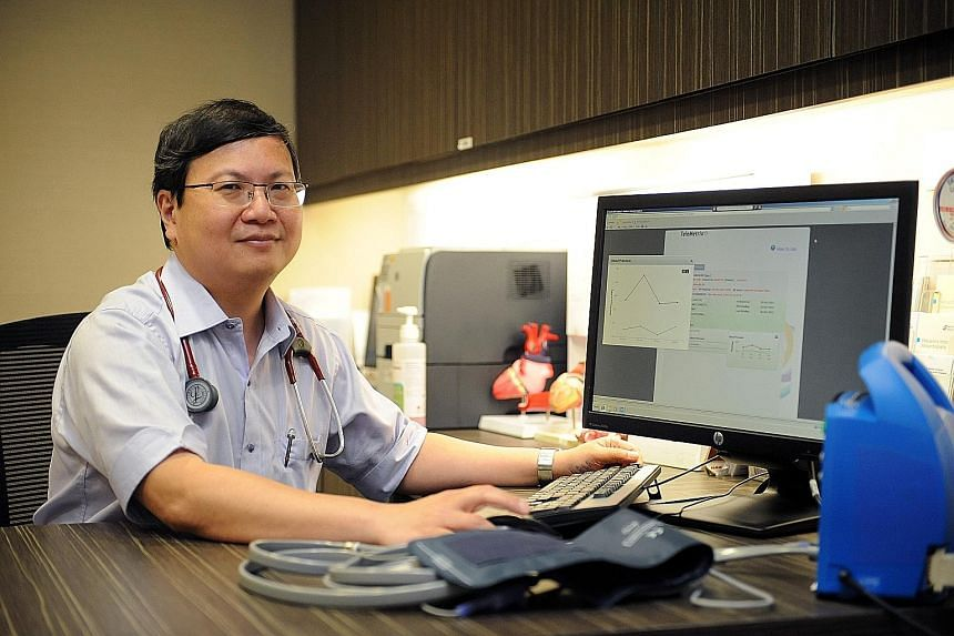Prof James Yip started the telehealth programme at NUHS last February and some 1,300 chronically ill patients have benefited from being monitored online. The trial was concluded at the end of last year, and NUH is now the first public hospital to off