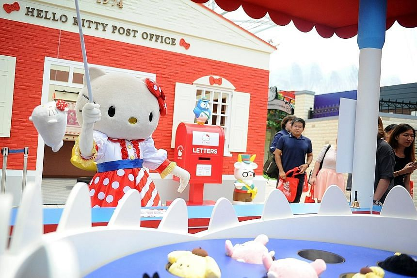 Fans are also upset that non- ticket holders could buy limited-edition Hello Kitty items outside the venue, which they felt diluted its exclusivity.