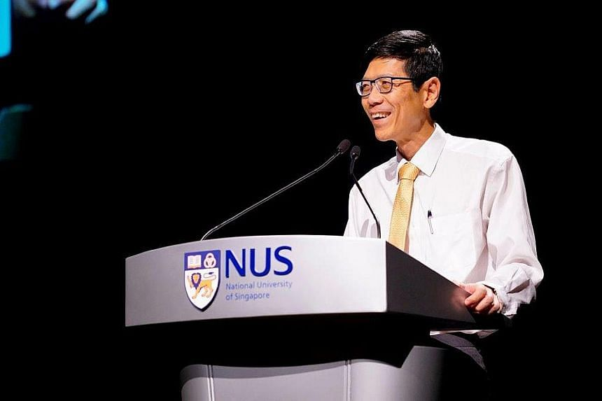 NUS president Tan Chorh Chuan is the United States' National Academy of Medicine's first Singaporean member.