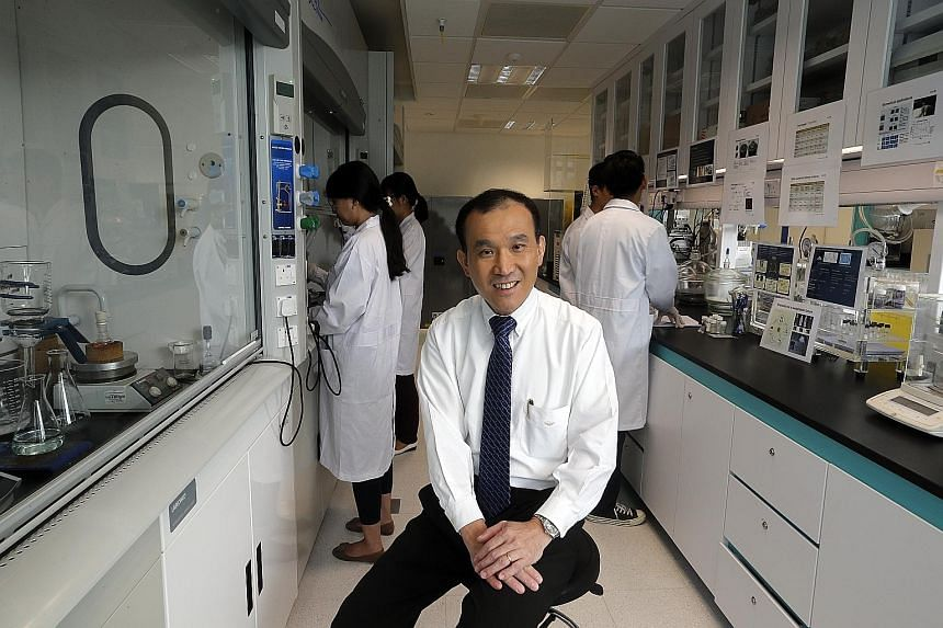 A*Star chairman Lim Chuan Poh hopes that Fusionopolis Two will facilitate the ability of scientists of different disciplines to collaborate and discuss their projects, thereby yielding new possibilities.