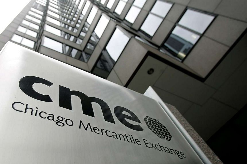 The Chicago Mercantile Exchange.