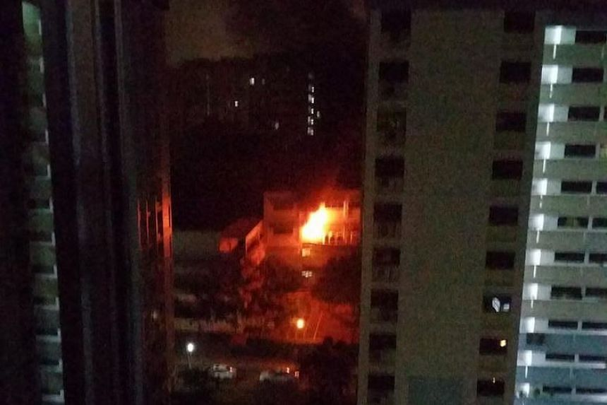 A fire broke out in an unused toilet at Admiralty Primary School at around 2am on Tuesday (Oct 20) morning.