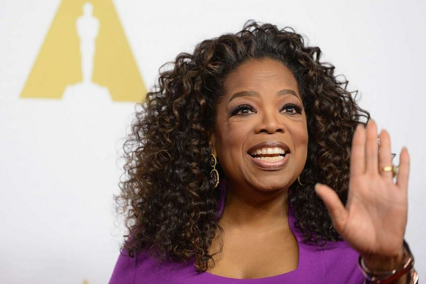 Oprah Winfrey arrives for the Oscars Nominees' Luncheon in Beverly Hills , California earlier this year.