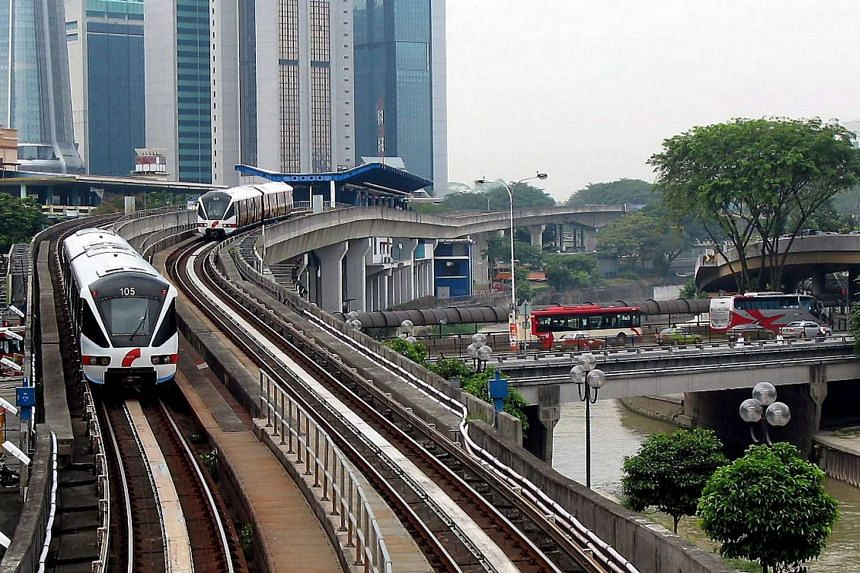 The Light Rail Transit (LRT) of Kuala Lumpur,  Malaysia. Its operator, RapidKL, also manages  the comprehensive bus network to ensure smooth  connectivity within the capital.