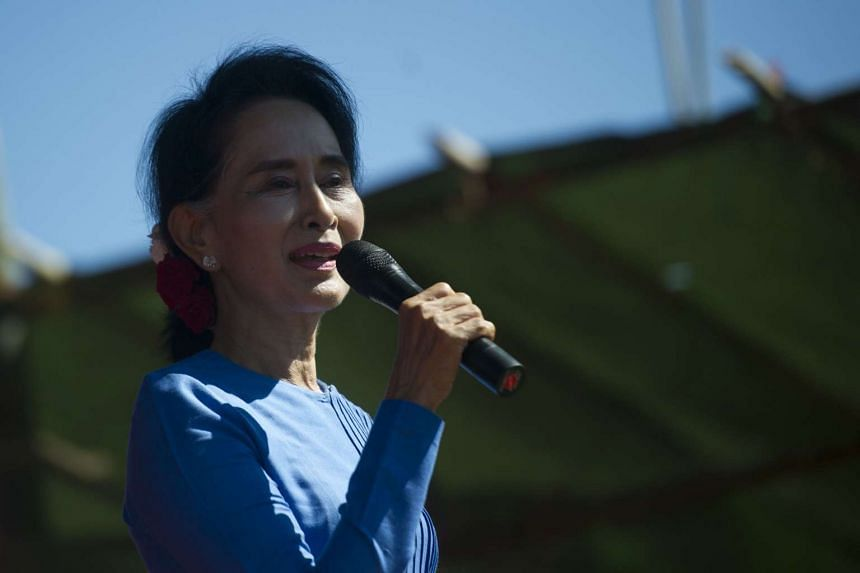 """Myanmar opposition leader Aung San Suu Kyi accused some of her opponents Wednesday of being """"dishonest""""."""