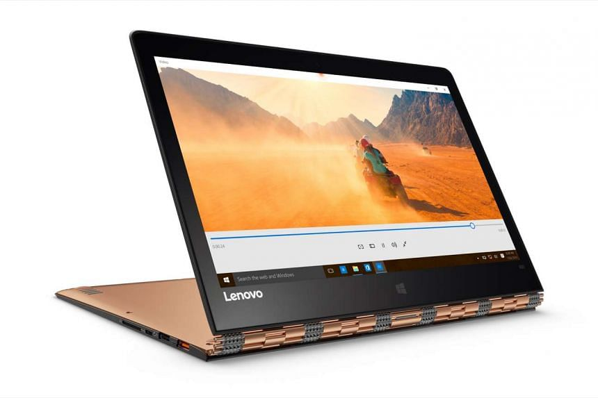 The Lenovo Yoga 900.