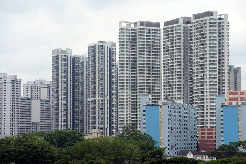 Blocks of housing flats in Toa Payoh on July 15, 2015.