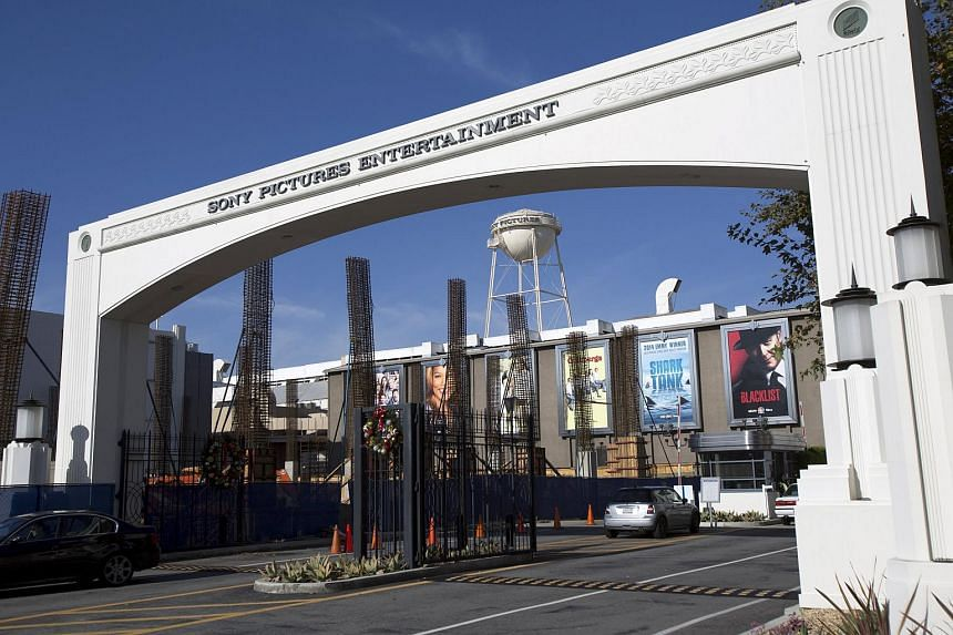 Sony Pictures Studios in Culver City, California.