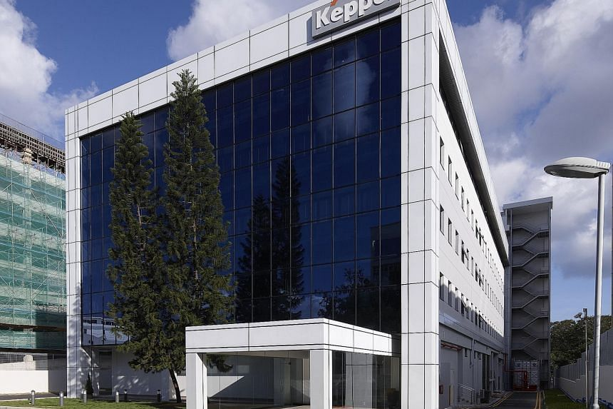 The Keppel Datahub in Singapore. Keppel T&T's data centre division posted revenue of $31.9 million in the nine months to Sept 30, down $14.1 million from last year.