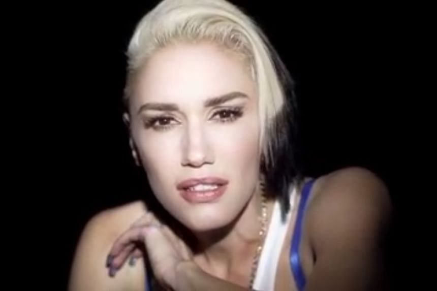Gwen Stefani in a screenshot from her new video for Used To Love You.