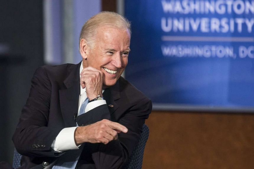 US Vice President Joe Biden speaks during an event honoring former Vice President Walter Mondale at The George Washington University in Washington on Tuesday.