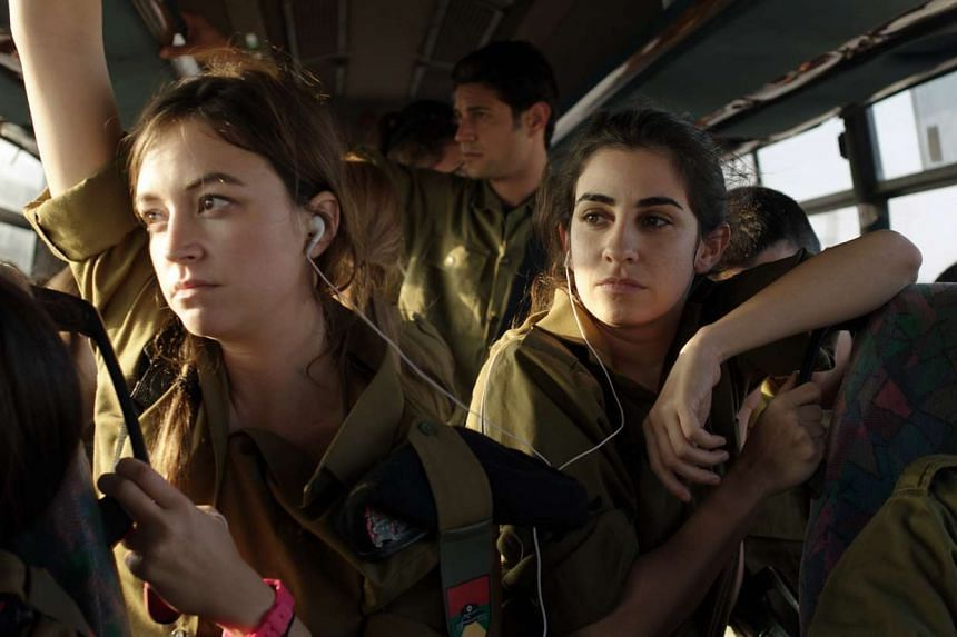 Zero Motivation stars Nelly Tagar (left) and Dana Ivgy as unlikely buddies in the Israeli army.
