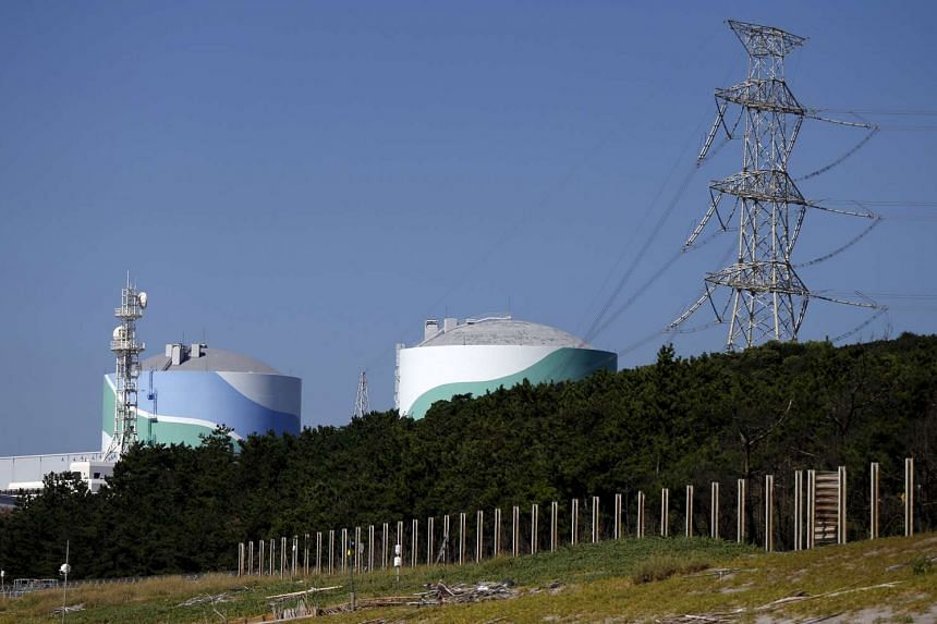 Kyushu Electric Power's Sendai nuclear power station is seen in Satsumasendai, Kagoshima prefecture, Japan, on Aug 8, 2015. Although every country in the world, Japan included, is entitled to peaceful use of nuclear energy, Japan's huge stockpiles of