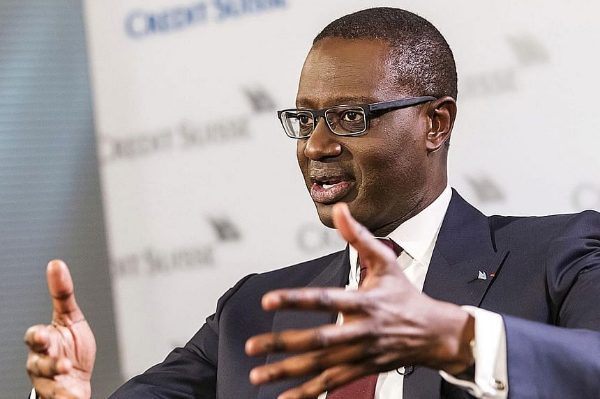 Credit Suisse's new chief executive, Mr Tidjane Thiam, announced plans to lead the bank in its biggest overhaul in almost a decade.