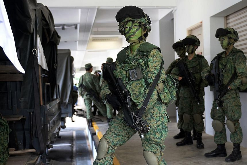 Madam Goh Mei Lan is one of 50 mid-career professionals hired by the SAF between last April and March this year as part of efforts to boost its ranks amid declining birth rates.