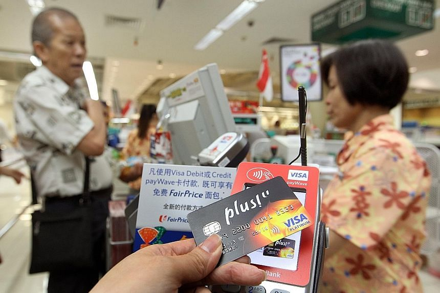 """Some contactless or """"tap-and-go"""" cards, such as those with the Visa payWave"""