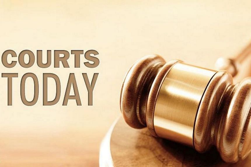 Five men from another mobile phone shop in Sim Lim Square were charged in court with cheating on Thursday.