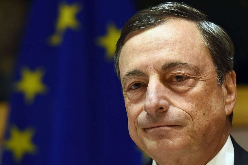 A file picture of European Central Bank President Mario Draghi. PHOTO:  AFP