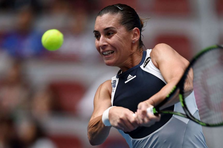 Pennetta will retire from the sport after the event in Singapore.