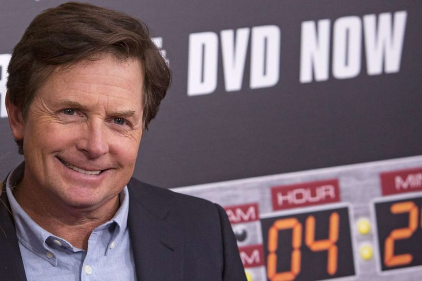 Actor Michael J. Fox attends the Back to the Future 30th Anniversary screening in New York on Oct 21, 2015.