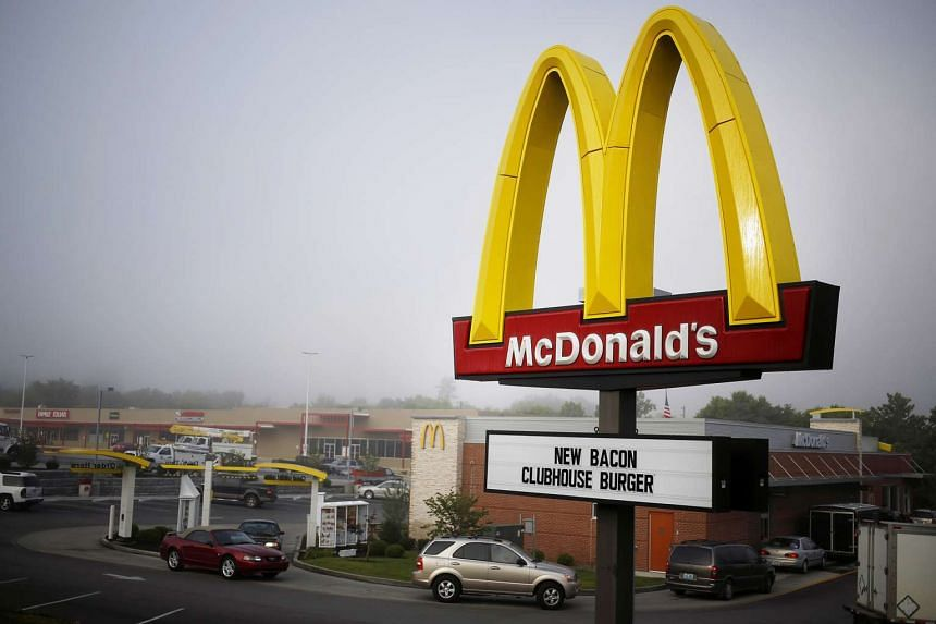 Strong results from McDonald's and eBay saw the Dow Jones industrial average rise on Oct 22, 2015.