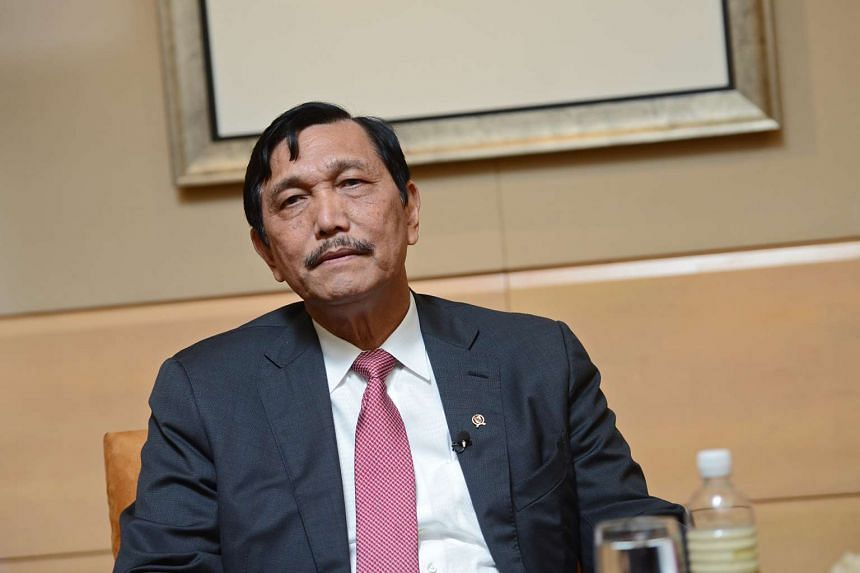 Indonesia's Coordinating Minister for Political, Legal and Security Affairs Luhut Pandjaitan.