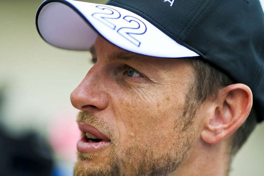 British Formula One driver Jenson Button of McLaren Honda at the paddock at the Circuit of the Americas, in Austin, Texas, USA, on Oct 22, 2015.