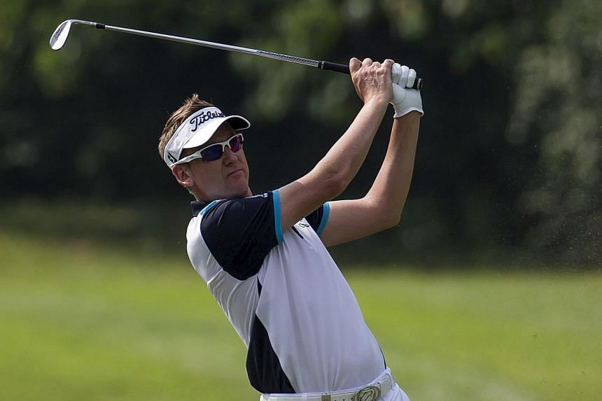 Late Hong Kong Open entrant Ian Poulter, who is outside the top 50, began well with a 67.