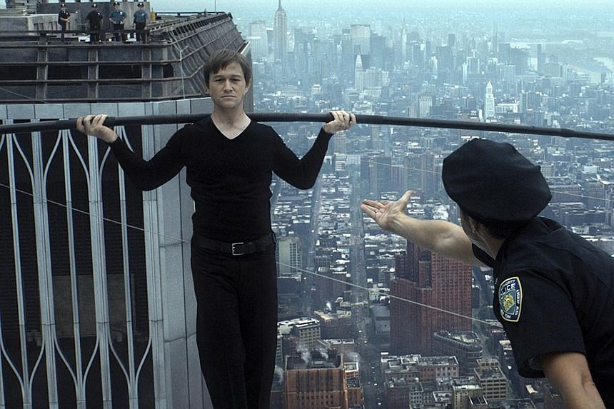 Joseph Gordon-Levitt  plays wire-walker Philippe Petit in director Robert Zemeckis' sweeping drama about Petit's high wire walk between the twin towers.