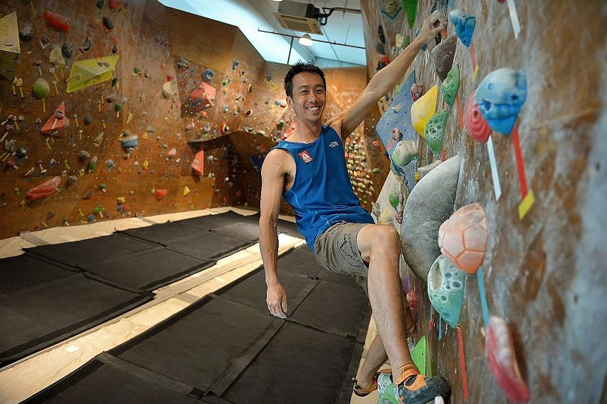 Sport climber Jay Koh represented Singapore at the 2011 SEA Games, winning a silver medal in the bouldering event. He has also competed four times at the International Federation of Sport Climbing World Cup.